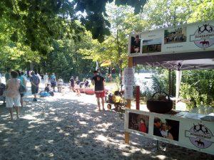 Zossenhof beim Neptunfest 2018 in Zech am See