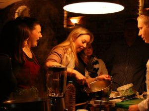 Livekochen als Geburtstagsidee